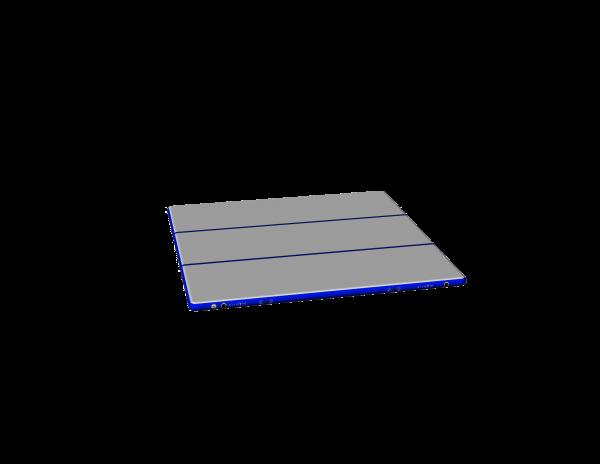 3D AirFloor H20 Basic 600 x 600 x 20